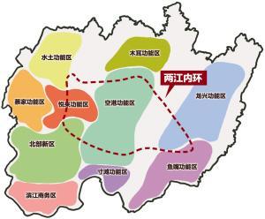 两江内环地图