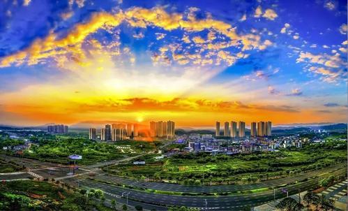 重庆科学城示意图