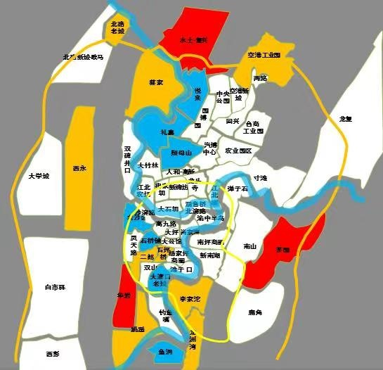 重庆中央公园规划图